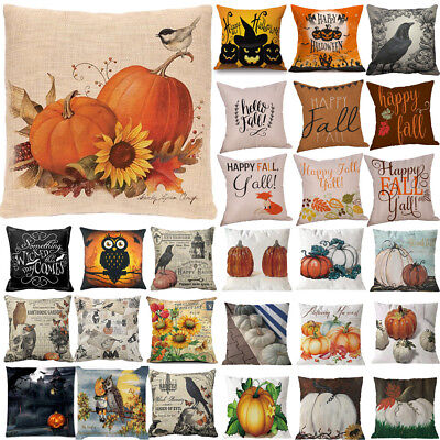 Halloween Pillowcase - Halloween Christma Pillow Cover Decor Pillow Case Sofa Waist Throw Cushion Cover