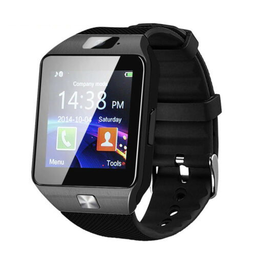 NEWEST DZ09 Bluetooth Smart Watch Camera SIM Slot For IOS Samsung Android Phones