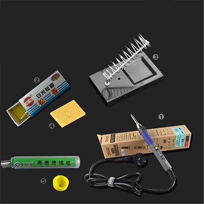 Digital Thermostatic Welding Electric Soldering Iron Set 80-480c 100w Backlight