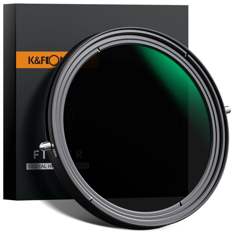 K&F Concept Variable ND2-ND32 + CPL Camera Lens Filter No X Spot 67/72/77/82mm