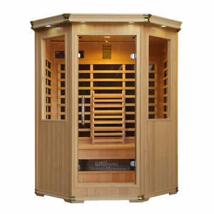 Tukeva 3 Person Carbon Fibre Infrared Sauna