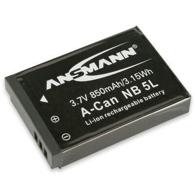 ANSMANN Akkupack A-Can NB 5 L Ersatz für Kamera Canon IXUS 90, IS 800… 5022953 Canon Pack