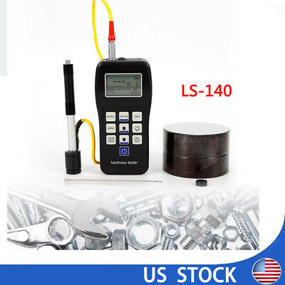 Portable Lcd Rebound Leeb Hardness Tester Meter Durometer For Metal Steel