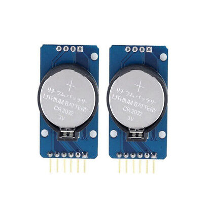 2x Ds3231 At24c32 Iic Precision Real Time Clock Rtc Memory Module New