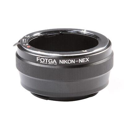 Ai-Nex Lente Adaptador Nikon Ai a Sony Nex E- Montaje NEX3 NEX5...