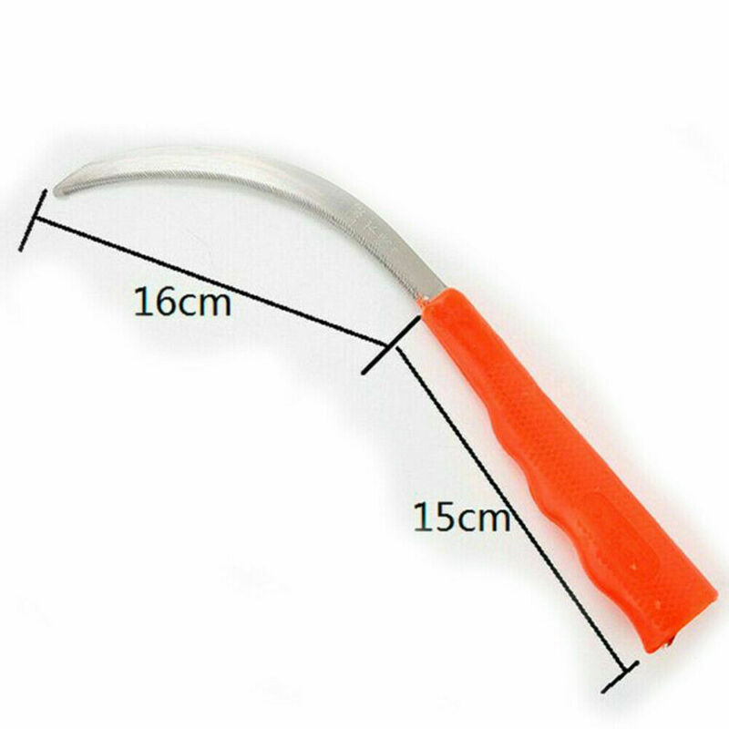 Alloy Steel Sickle Small Tooth Agriculture Sharp Grass Cutting Farm Garden Tool