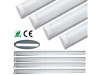"LED Batten Tube Light Daylight 36W! BRAND NEW. 4FT 1200mm Surface Mounted ""10 OF THEM AVAILABLE"""