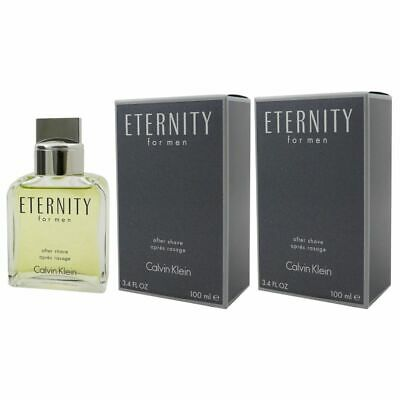 Calvin Klein Eternity for Men - Man 2 x 100 ml After Shave Lotion AS