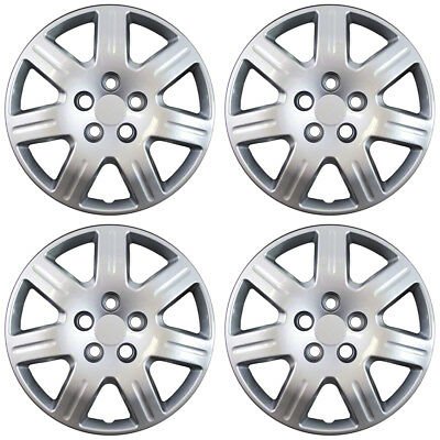 Hubcaps Fits 2006-2013 Honda Civic (Set of 4) 16-Inch Wheel Cover Rim Skin