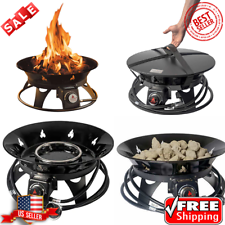 OUTLAND Firebowl Cypress Outdoor Firepit Carry Kit ... on Outland Living Cypress Fire Pit id=45305