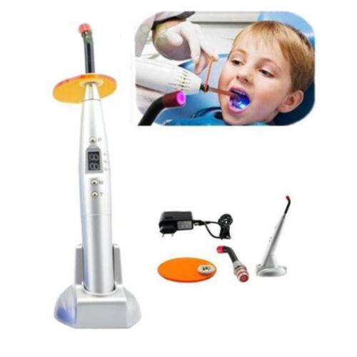 US Dental 5W Wireless Cordless LED Curing Light Lamp 1500MW Dentist Teeth Cure