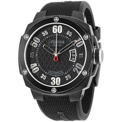 Alpina Adventure Extreme Black Dial Silicone Strap Men's Watch AL525BB5FBAE6