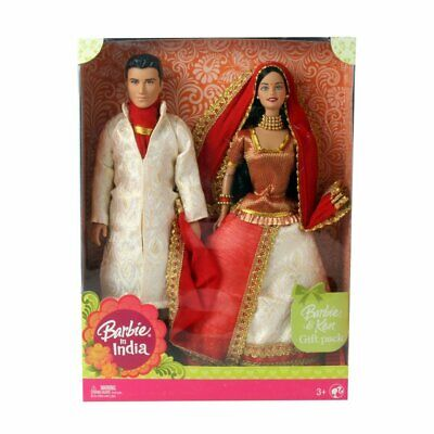 Barbie Barbie and Ken in India Wearing indian costume Design & Color may Vary - Ken Barbie Costume