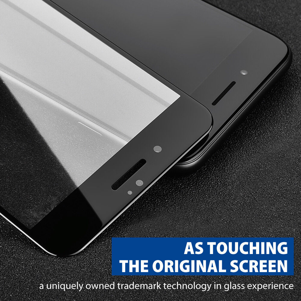 best loved c2c07 29ed0 Details about 5D Full Cover Curved Tempered Glass Screen Protector for  iPhone X 7 8 Plus LKD