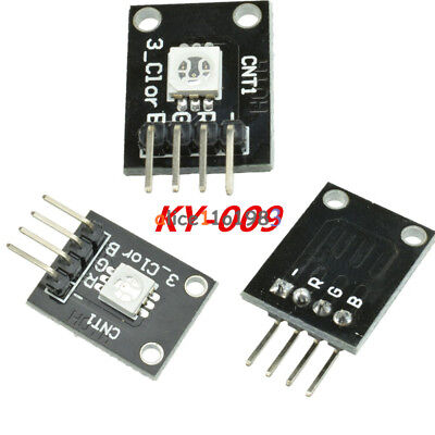 25pcs Ky-009 5050 Pwm Rgb Smd Led Module Color Light For Arduino Mcu Raspberry