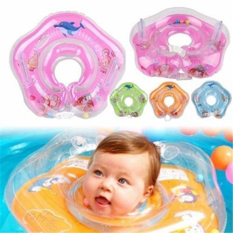 Baby Kids Schwimmen Hals Float Ring Bad Sicherheit Schwimmring AufblasbarerKreis