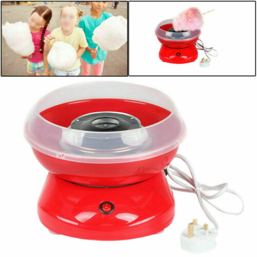 Professional Cotton Sugar Candy Floss Maker Machine Home Kids Party Sweet Gift