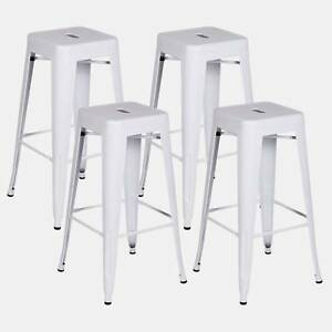 SALE! - 4 x Replica Tolix bar cafe stools 65cm. Many Colours Wetherill Park Fairfield Area Preview