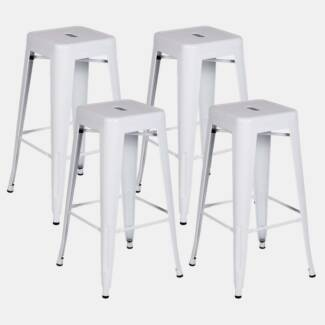 sale xavier pauchard tolix stool 65cm set of 4 stools bar