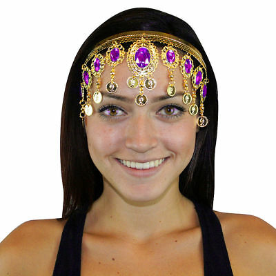 Costume Dress up Belly dance Headdresses, Headband, Hair Brooch Clip - Hair Dress Up