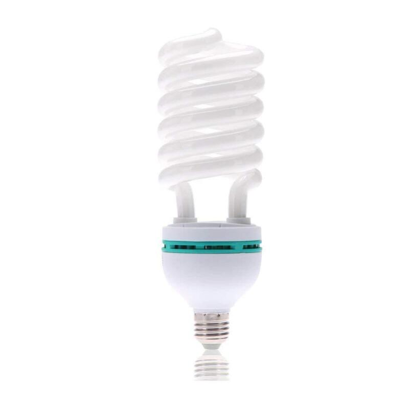 45W CFL Photography Bulb 6500K Daylight White for Photography & Video Studio