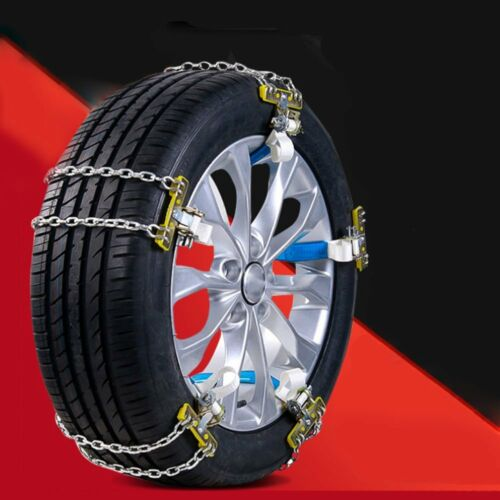 Manganese Steel Car Tire Anti-skid Chains Emergency Belt For Snow Mud Road _