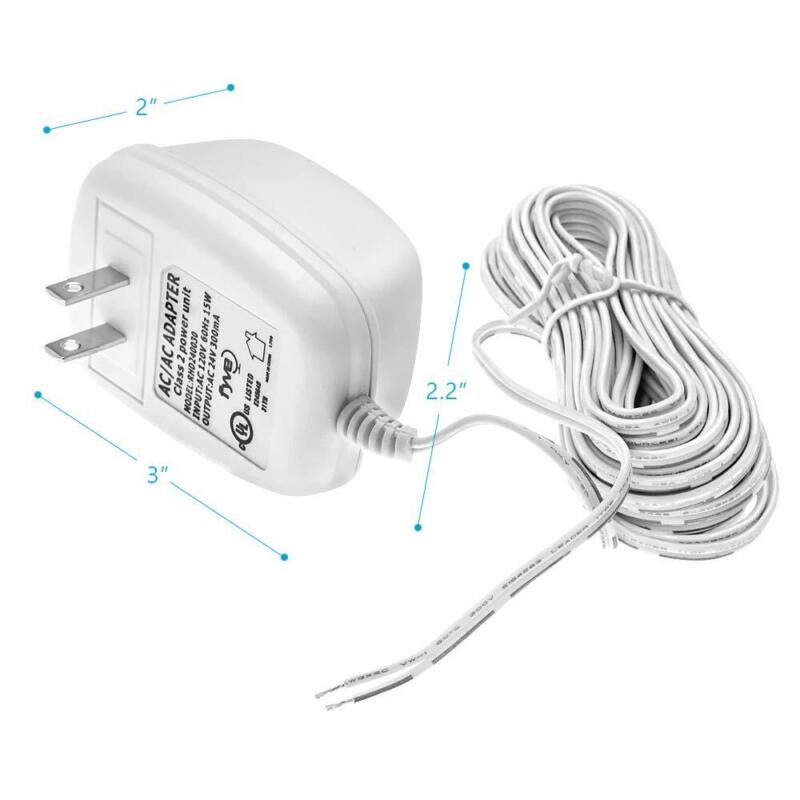 24 Volt C-Wire Power Adapter/Transformer for Wifi Smart Ther