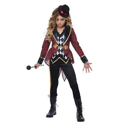 Girls Ringmaster Circus Halloween Costume (Girl Ringmaster Costume)