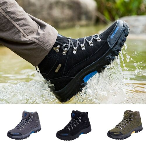 High-top Outdoor Shoes Men's Non-slip hiking Shoes Walking Shoes Sports  shoes