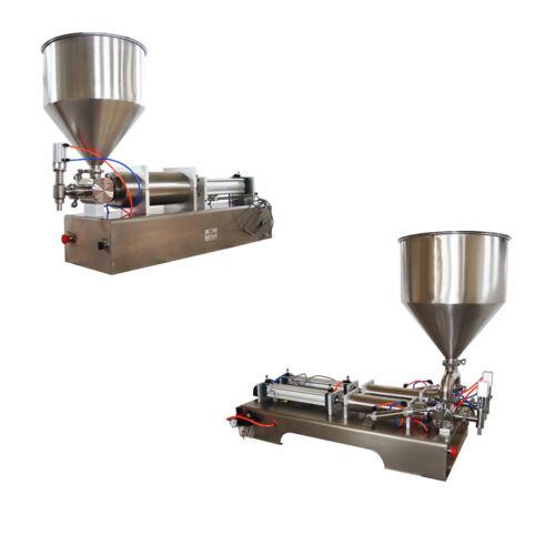 Various Liquid Paste Filling Machine Bottle Seal Pack Piston Filler 5-5000ml