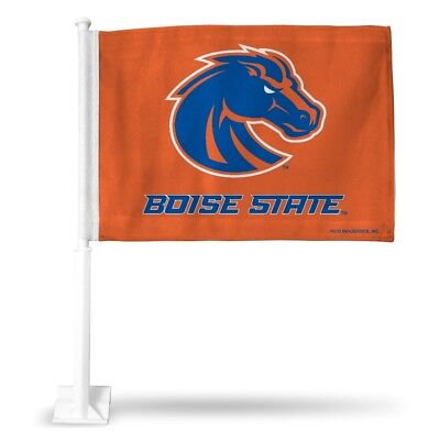 Boise State Broncos NCAA 11X14 Window Mount 2-Sided Car Flag Boise State Broncos Flag