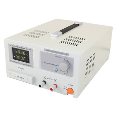 Linear Power Supply 0-30 Volt 0-10 Amp With Adjustable Current Limiting Item