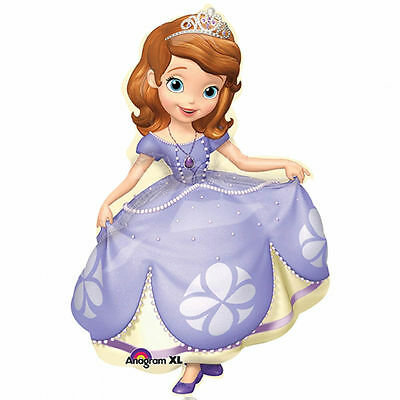 Disney Sofia the First SuperShape Jumbo Birthday Balloon 35