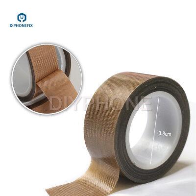 0.13mm 19mm High Temperature Ptfe Teflon Adhesive Tape Insulation Pcb Bga Tool
