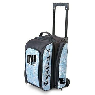 DV8 Freestyle 2 Ball Roller Bowling Bag Color Blue Swirl