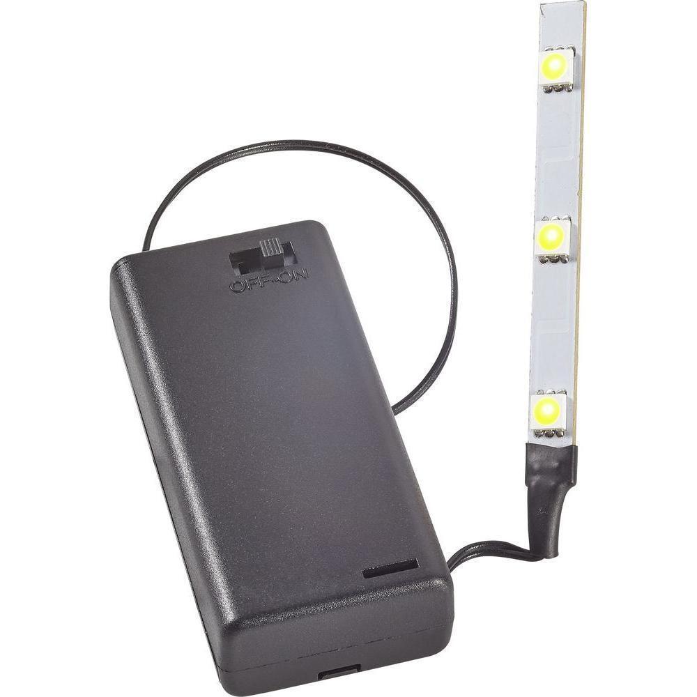 kahlert 69911 licht led leiste mit batterie box wei 3 5 v neu ovp eur 6 90 picclick de. Black Bedroom Furniture Sets. Home Design Ideas