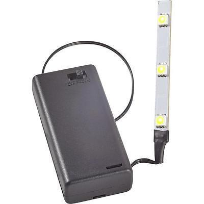 Kahlert 69911 Licht LED-Leiste mit Batterie-Box 3.5 V  weiß  NEU/OVP