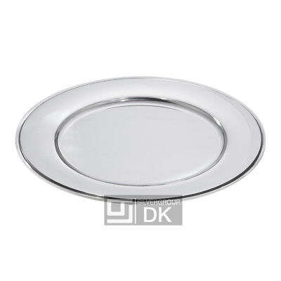 Georg Jensen Silver Place Plate #600Y - 12 Pcs. - Pyramid/ Pyramide - NEW