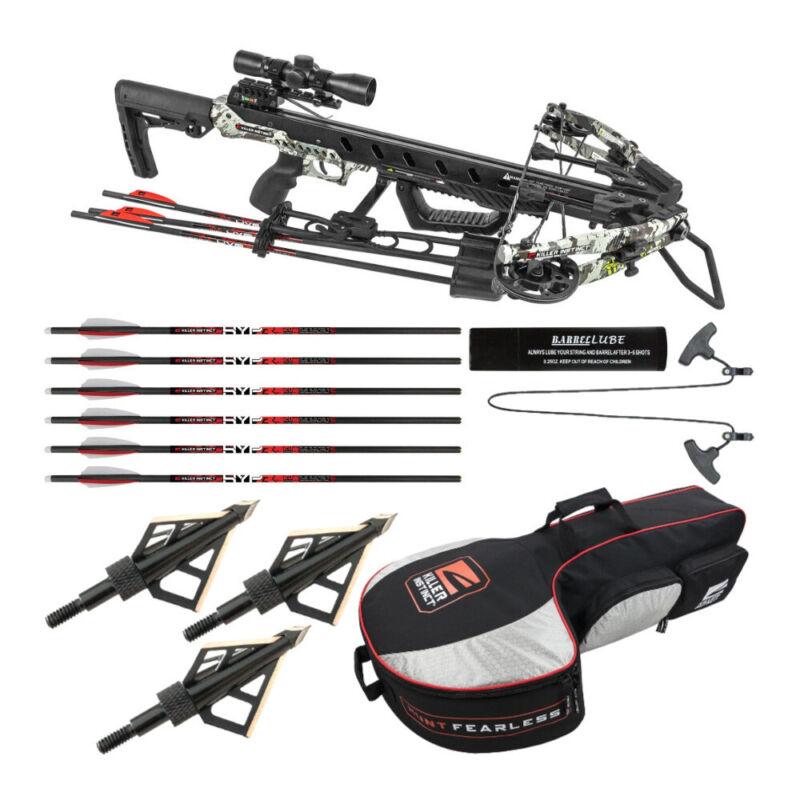 Killer Instinct Ripper 425 Fps Crossbow Package Essentials Bundle