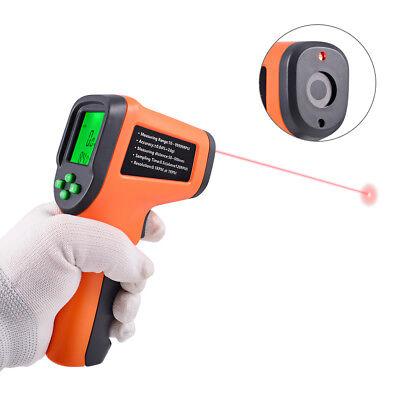 Digital Laser Photo Tachometer Non-contact Rpm Tach Speed Gauge Temperature Usa