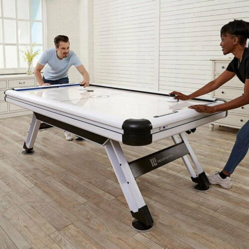 """Medal Sports MD 89"""" Air Hockey Table, Includes 4-pushers and 4-pucks"""