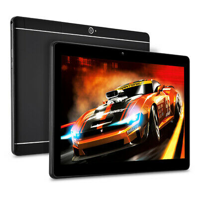 10.1'' 64GB Android 7.0 Tablet PC Octa Core 10 Inch HD WIFI 2 SIM 4G Phablet US