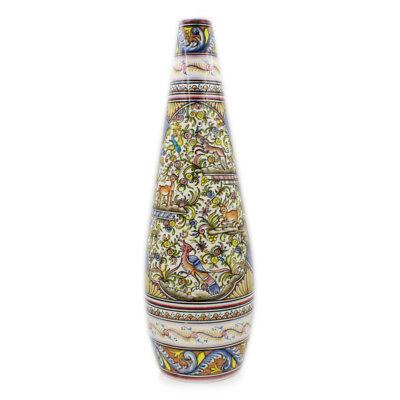 Coimbra Ceramics Hand-painted Large Jar XVII Cent Recreation #280-1