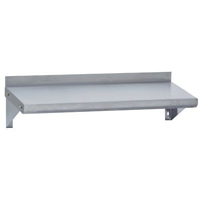 Stainless Steel Commercial Wall Mounted Shelf 12x96