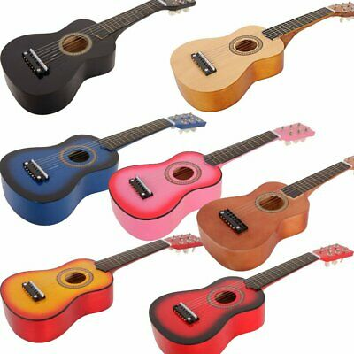 """21"""" 23"""" 25"""" Kids Acoustic Guitar Musical Instrument Chidren with Pick + String"""