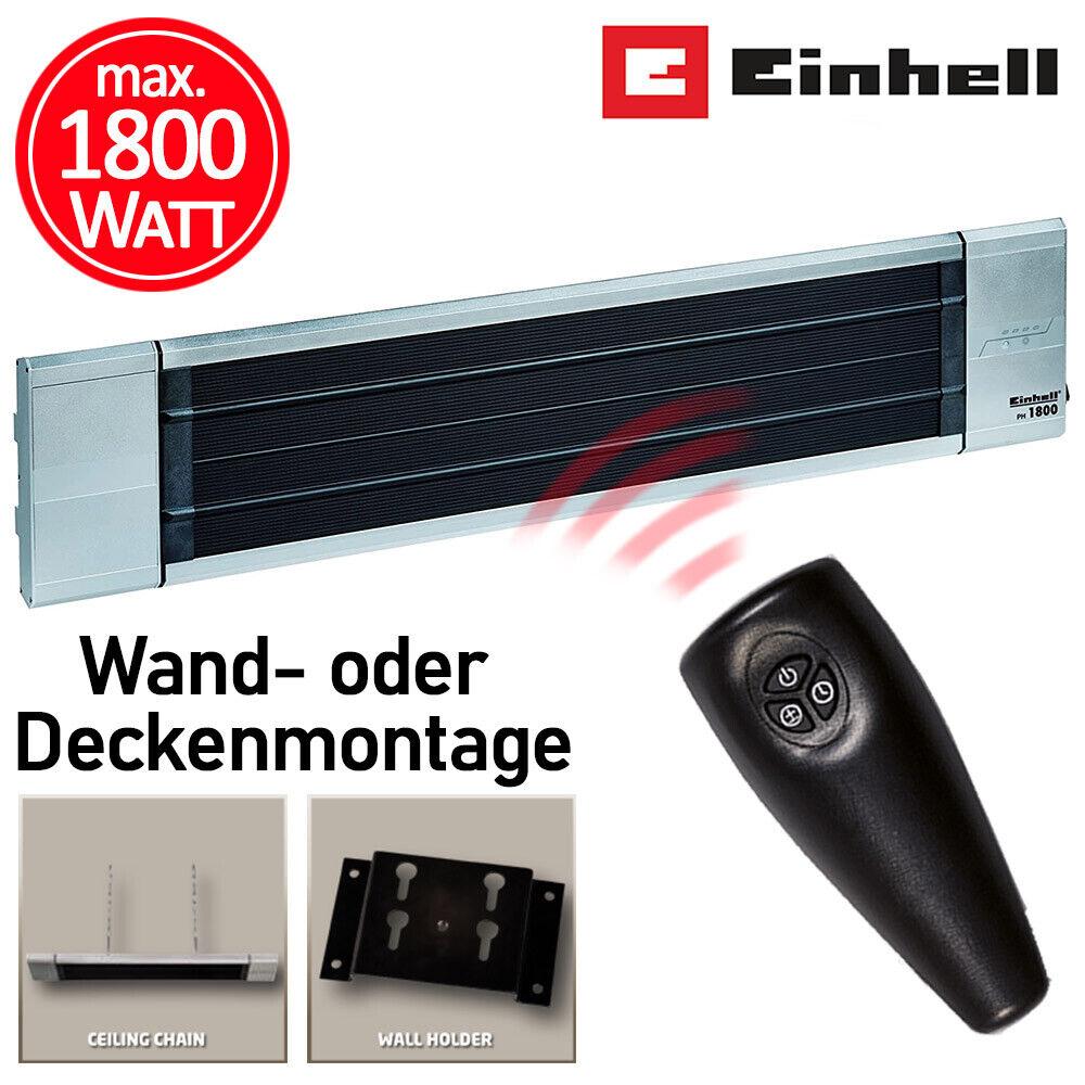 Einhell Elektro Heizstrahler Terrassen Infrarot Heizer Wärme Heizung Strahler