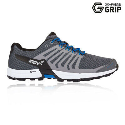 Inov8 Mens Roclite 290 Trail Running Shoes Trainers Sneakers Black Grey Sports