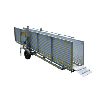 Atlex 3.6m Fixed Height Mobile Cattle Loading Ramp