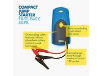 Ring RPP900 300A Compact Car Jump Starter Battery Booster Pack Power Bank...
