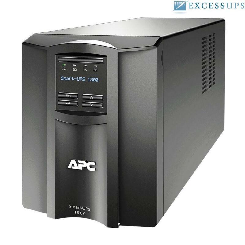 APC Smart-UPS 1500VA 1000W SMT1500 - New Batteries, 1Yr Warranty, Free Ship!